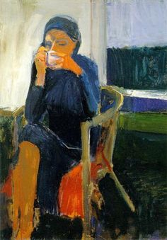 richard diebenkorn paintings | Coffee by Richard Diebenkorn, 1959 Collection of SFMOMA | Figurative ...
