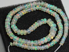 Welo Opal, Opal Auctions, Natural Opal, Beaded Necklace, Bright, Beads, Stone, Amp, Jewelry