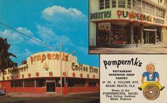 Pumpernik's - Miami Beach, Florida | by The Cardboard America Archives