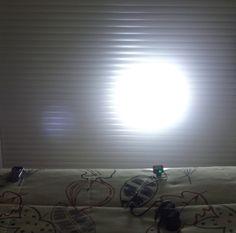 Potente luz