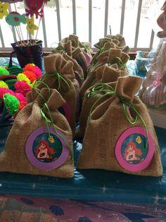 Bolsa de dulces y sorpresas