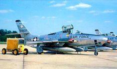 USAF Republic RF-84F Thunderflash of the 107th Tactical Reconnaissance Squadron Michigan ANG.