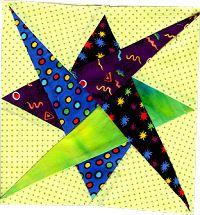 quilt block patterns printable | Free Double Cut Triple Cut Quilt Block Pattern: Contemporary Quilt