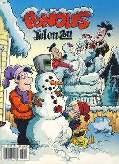 """""""Pondus Julen 2011"""" av Frode Øverli Comic Books, Comics, Reading, Cover, Anime, Winter, Winter Time, Reading Books, Cartoon Movies"""