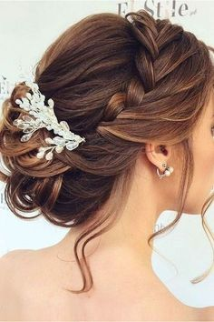 Mother Of The Bride Hairstyles Braids Bridal Hair Wedding . Hair Style Image images of bridal hair styles Romantic Wedding Hair, Hairdo Wedding, Wedding Hair And Makeup, Elegant Wedding, Diy Wedding, Trendy Wedding, Wedding Ideas, Bridal Makeup, Wedding Reception