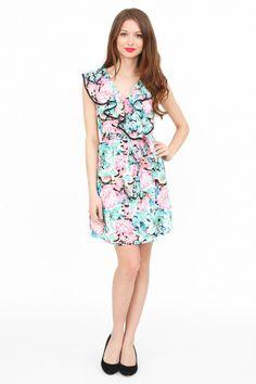 Yumi Kim Marian Ruffle Dress | YUMIKIM.COM
