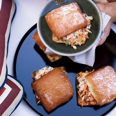 Miso-Shrimp Po' Boys | Food & Wine