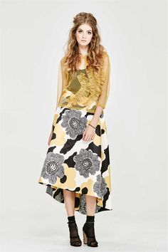 The dramatic full-circle skirt has made a triumphant return. This elegant style has a defined waist, drapes lower in the back and is made from the most luxurious structured jacquard. Pair it with a cropped, fitted top. Spring 2017 Size & Fit: Model is 177cm tall Model wears a NZ 8/ NZ S/ EU 36/ US 4 Wash Guide: Dry clean only. Select a high quality drycleaner. Gentle short cycle. Low moisture. Low temperature. Do not wring/drip dry. Do not allow exposure to direct sunlight. Cool iron wit...