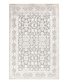 Fables Gray Machine Tufted Rug