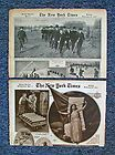 "VINTAGE NEW YORK TIMES FEB, 1917 ""PICTURE SECTION"": WWI IMAGES, THEATRE, FASHION - &quotPICTURE, 1917, FASHION, Images, SECTION&quot, Theatre, times, Vintage, York"