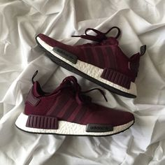 5a4c3f63 Adidas Originals NMD Suede sneakers in maroon. Women's size 6.5 but will  best fit a