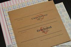 crochet printable gift tag - Cobberson & Co.