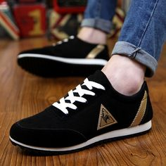 cfbcd9288c3005 New 2018 Spring/Autumn Casual Shoes For Men Fashion Comfortable Lace-up