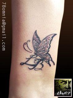 Farfalla caviglia by Omnia78
