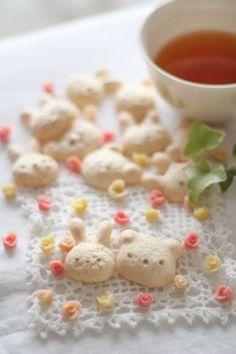 メレンゲマコロン*のレシピ | キッチン | パンとお菓子のレシピポータル    meringue macaron japanese recipe