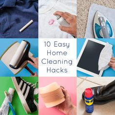 10 of the easiest home cleaning hacks EVER!