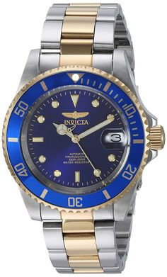 Amazon.com: Invicta Men's 8928OB Pro Diver Gold Stainless Steel Two-Tone Automatic Watch: Invicta: Clothing