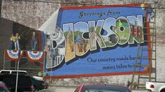 Summers spent in Dickson, Tennesee