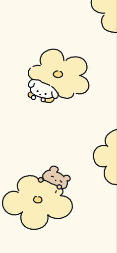 Cute Pastel Wallpaper, Soft Wallpaper, Bear Wallpaper, Cute Patterns Wallpaper, Aesthetic Pastel Wallpaper, Scenery Wallpaper, Kawaii Wallpaper, Wallpaper Iphone Cute, Wallpapers Kawaii