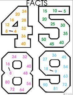 MULTIPLICATION MULTIPLES BY JH - TeachersPayTeachers.com