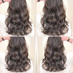 Korean Long Hair, Korean Hair Color, Asian Hair, Hair Color For Black Hair, Permed Hairstyles, Straight Hairstyles, Hair Shades, Aesthetic Hair, Balayage Hair