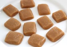 microwave salted caramels!