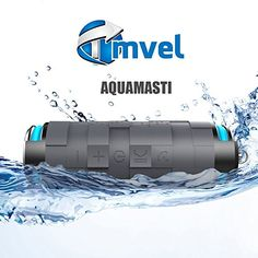 Tmvel Aquamasti Rugged Wireless Shockproof 100% Water Resistant/Waterproof 10W Speaker/Shockproof with Power Bank Charge your smartphones, Bluetooth 4.0 Technology-Retail packaging :: Best Rated Bluetooth Speaker