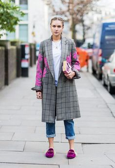 London fashion week February 2017 street style
