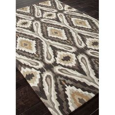 JaipurLiving Brio Olive Tribal Area Rug Rug Size: 2' x 3'