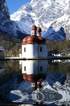 St. Bartholomä, Bavaria, Germany
