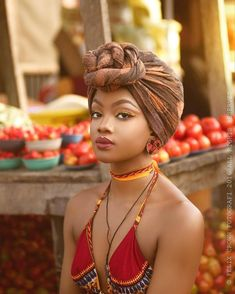 In the headwraps became a central accessory of Black Power's rebellious uniform. Headwrap, like the Afro, challenged accepting a style once used to shame African-Americans. Black Girl Magic, Black Girls, Beautiful Black Women, Beautiful People, Mode Turban, African Head Wraps, Turban Style, Afro Punk, African Beauty
