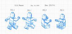 Lego design patent, 1979. D253711
