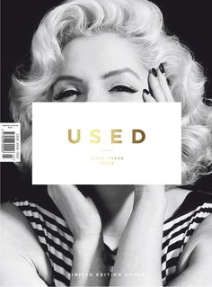 USED MAGAZINE #3 COVER | LIFE IS NOT ▲ REHEARSAL