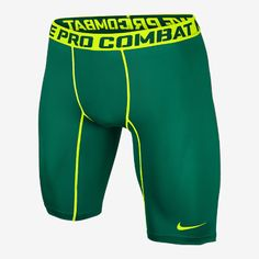 "Nike Pro Combat Core Compression 2.0 9"" Men's Training Shorts Basketball Shirts, Baseball Jerseys, Fitness Apparel, Mens Fitness, Baggy Shorts, Men's Activewear, Mens Tights, Football Gear, Short Shirts"