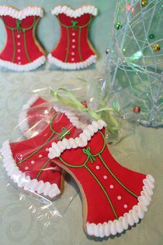 Sexy Santa Cookies☕ #Food #Cookie #Desserts