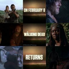 Feb.8 can't come soon enough! #TWD