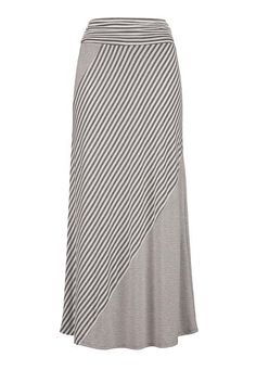 Striped maxi skirt (original price, $34) available at #Maurices
