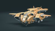 "This model is inspired by the ""pelican"" aircraft found in the video game series Halo."