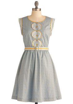 Holland Oats Dress   Mod Retro Vintage Dresses   ModCloth.com