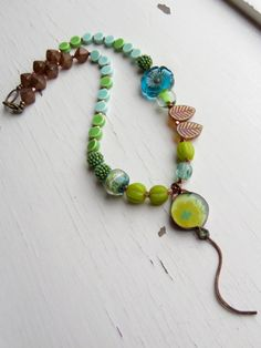 Up up and away  handmade necklace ceramic jewellery by songbead