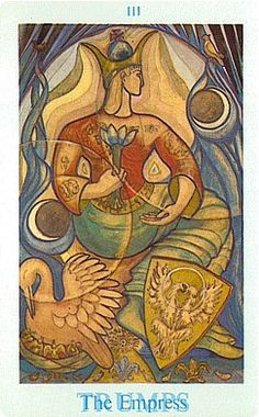 """Your Crowley Thoth Tarot Card for Today The Empress The Empress is """"The Earth Mother"""" of the Tarot. She embodies all that is nurturing, clean and wholesome. Her powers resonate from her…"""