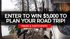 Sweepstakes: Win $5,000 to plan your road trip! Contest ends: August 1, 2016 Value: $5,000 USD --- Where would be your first destination if you win? PS: Click like and share this contest with your friends!