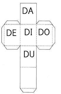 Recursos para Docentes: Dados silábicos Bar Chart, Homeschool, Diagram, Teaching, Education, Nova, 1, Creative Activities For Kids, Sight Word Activities
