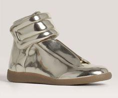 Margiela Metallic Mirror Sneaker