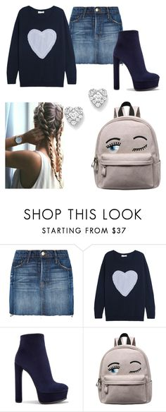 Look #24 by colleen073 on Polyvore featuring Chinti and Parker, Frame, Casadei and Bloomingdale's