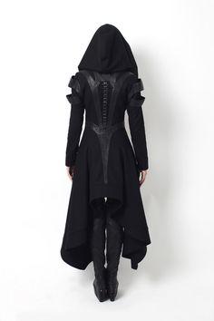 Avant Long Coat by Gelareh Alam