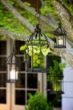 Stylish garden chandelier Ideas (5)