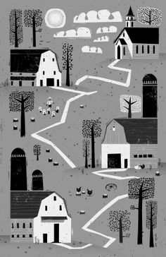 Early in the morning by Peter Donnelly, via Behance