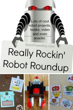 Get all wound up about robots with this Really Rockin' Robot Roundup.  Plenty of great #kidsactivities, #LEGO, books and much more for your #robot lover.