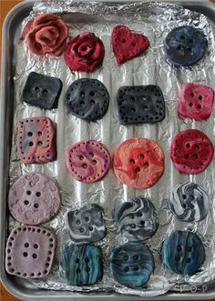 Make Your Own Polymer Clay Buttons